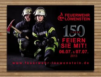 Feuerwehr-Banner