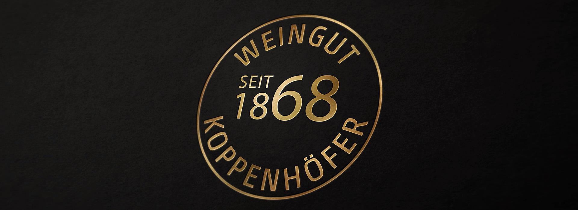 Jubiläumslogo Weingut Koppenhöfer