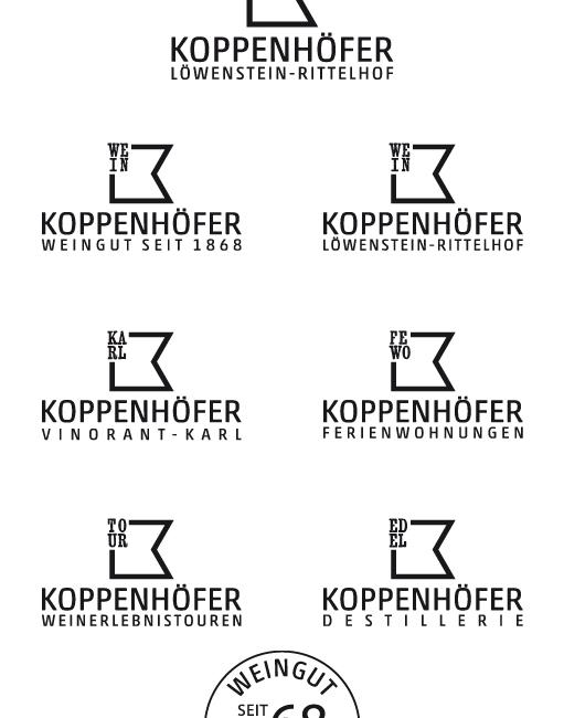 Logos für Weingut Koppenhöfer