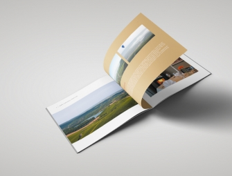 Broschüre für Landhaus Hohly